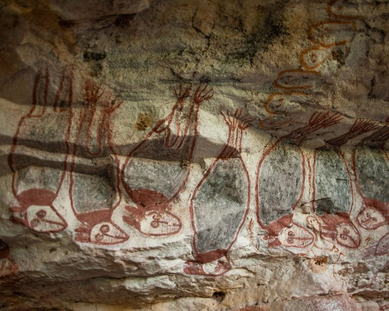 Flying Foxes rock art